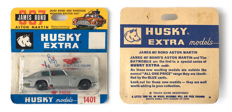 Corgi, Micro Machines, Matchbox, Johnny Lightning, James Bond cars