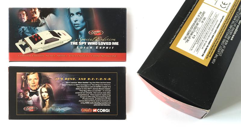 Corgi James Bond Spy Guise For Your Eyes Only Ltd Ed Other Vehicles