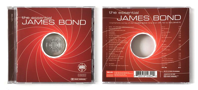 James Bond 007 tapes, cassettes, music