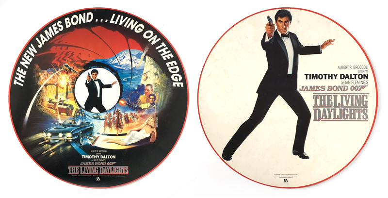 James Bond Publicity And Promotional Materials Displays