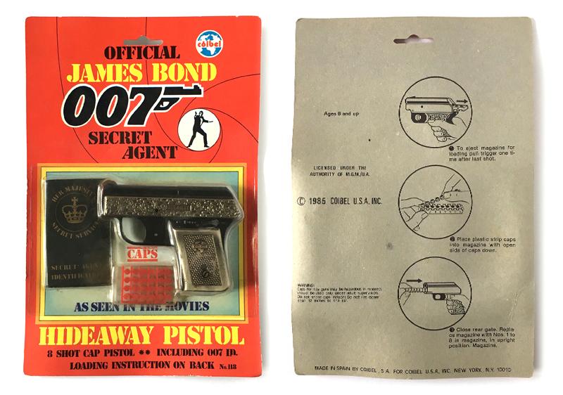 James Bond 007 toys guns, Lone Star, Coibel, Multiple Toys, Imperial