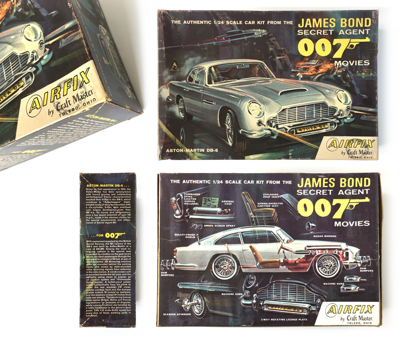 My Favourites Are The Imai Kits From Japan Produced Around The Time Of  Thunderball. Aston Martin DB5 ...