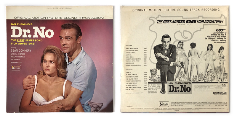 Image result for dr no soundtrack
