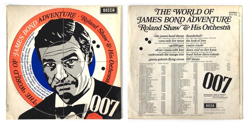 James Bond & His Sextet The James Bond Sextet Casino Royale / The Man With The Golden Gun