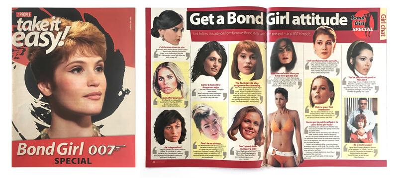 James Bond newspapers, magazines, Sunday Times, Mail on Sunday